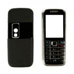 Front Back Panel For Nokia 6233 White Black Silver - Maxbhi Com