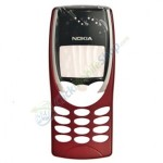 Front Cover For Nokia 8210 - Red
