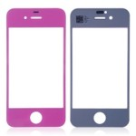 Front Glass Lens For Apple iPhone 4 - Purple