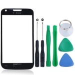 Front Glass Lens For Samsung Galaxy S II T989 - Black