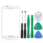 Front Glass Lens For Samsung Galaxy S II T989 - White