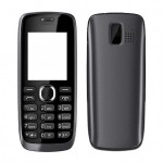 Full Body Panel For Nokia 112 Black - Maxbhi Com