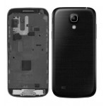 Full Body Housing For Samsung I9192 Galaxy S4 Mini With Dual Sim Black - Maxbhi.com