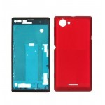 Full Body Housing For Sony Xperia L C2104 Red - Maxbhi.com