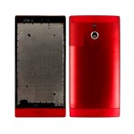 Full Body Housing For Sony Xperia P Lt22i Nypon Red - Maxbhi Com