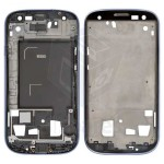 LCD Frame For Samsung I9300 Galaxy S III - Blue