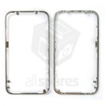 Middle Frame For Apple iPhone 3GS - Silver