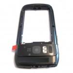 Lcd Frame Middle Chassis For Nokia E6 E600 White By - Maxbhi Com