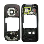 Middle For Nokia N73 - Brown