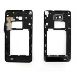 Middle For Samsung I9100 Galaxy S II - Black
