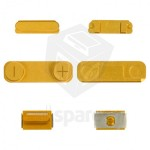 Side Button For Apple iPhone 5 - Golden