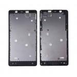 Lcd Frame Middle Chassis For Microsoft Lumia 540 Dual Sim Black By - Maxbhi Com