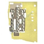 Keypad Domesheet For Samsung A800 - Silver