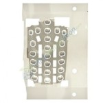 Keypad Domesheet For Samsung E720 - Metal