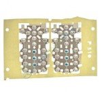 Keypad Domesheet For Samsung P510 - Metal