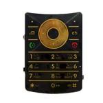 Keypad For Motorola RAZR2 V8 - Golden
