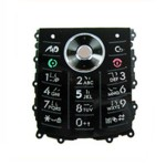Keypad For Motorola SLVR L9 - Black