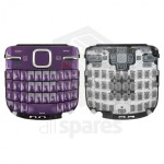 Keypad For Nokia C3 - Purple