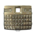 Keypad For Nokia E72 - Golden