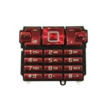 Keypad For Sony Ericsson T700 - Red