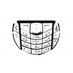 Keypad For Nokia 6630 Silver - Maxbhi Com