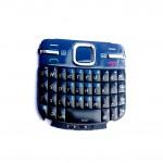 Keypad For Nokia C3 Dark Blue - Maxbhi Com