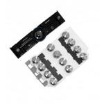 Keypad For Sony Ericsson K810 Dark Blue - Maxbhi Com