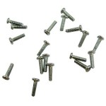 Screw For Nokia N71 - Silver