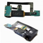 Audio handsfree Jack Part Ear piece Speaker Flex cable for Samsung i9000 Galaxy