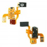 Ear piece Speaker Mic Audio Jack Port Handsfree Flex Cable for Samsung S5620 Monte