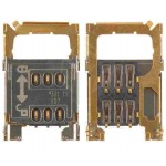 MMC + Sim Connector for Nokia 7230