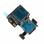 Sim card reader flex cable for Samsung galaxy s4 i9500