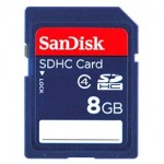 Sandisk 8 GB SD Memory Card