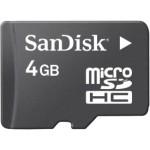 Sandisk 4 GB Micro Memory Card