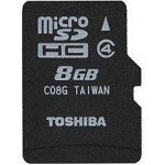Toshiba 8 GB Micro Memory Card