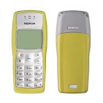Full Body Housing for Nokia 1100 Grey & Yellow