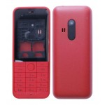 Full Body Housing For Nokia 220 Red - Maxbhi.com