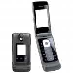 Full Body Housing For Nokia 6650 Fold Black - Maxbhi Com