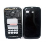 Full Body Housing For Samsung Chat 322 Duos Black - Maxbhi Com