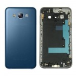 Full Body Housing For Samsung Galaxy E7 Blue - Maxbhi Com