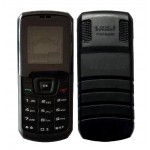 Full Body Housing For Samsung Guru E1160i Black Red - Maxbhi Com