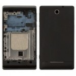 Full Body Housing For Sony Xperia E C1504 Black - Maxbhi Com
