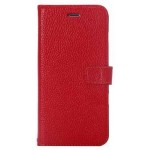 Flip Cover for Intex Aqua Power HD - Red