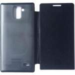 Flip Cover for Karbonn A6 Turbo - Black