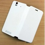 Flip Cover for Lava Iris X1 16GB - White