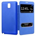 Flip Cover for Samsung GALAXY Note 3 Neo 3G SM-N750 - Blue