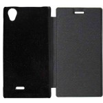 Flip Cover for XOLO A550S IPS - Black