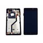 Lcd With Touch Screen For Gionee Elife E5 Black By - Maxbhi Com