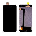 Lcd With Touch Screen For Lava Iris X5 Black By - Maxbhi Com