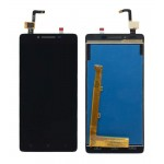 Lcd With Touch Screen For Lenovo A6000 Plus Black By - Maxbhi Com